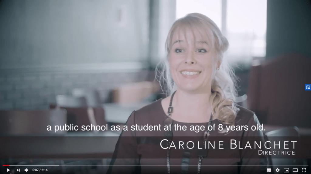 CAroline Blanchet Testimonial